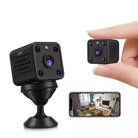 Mini Wireless Wifi Home IP Hidden Spy Night Vision Camera