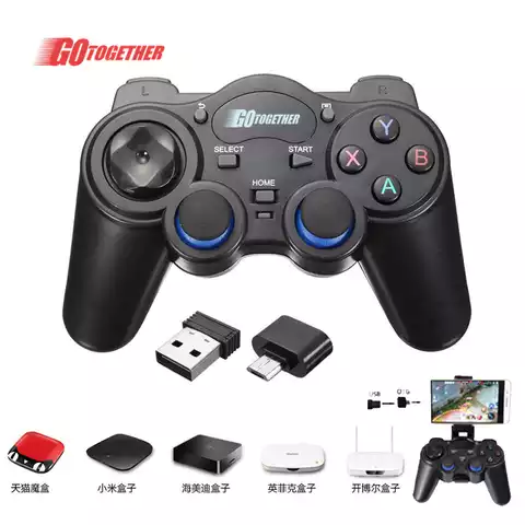 2.4G wireless game controller gamepad for ps3