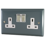 DOUBLE 13AMPS WALL SOCKET