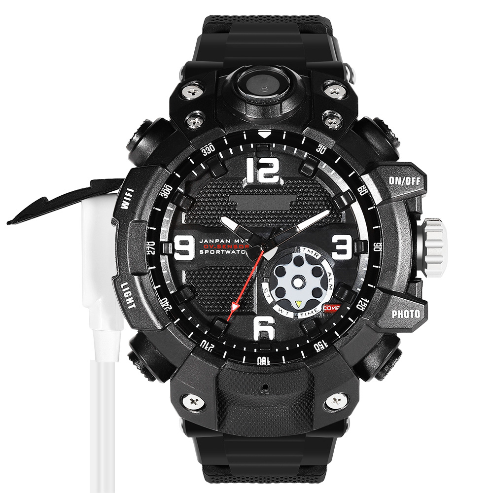 waterproof spy watch camera with wifi sport