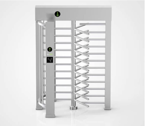 Highest Security Level Full Height Turnstile Gate Access Control System