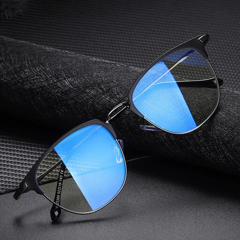 HBK Optical Frame Computer Gaming Eyeglasses anti blue light Reading Glass