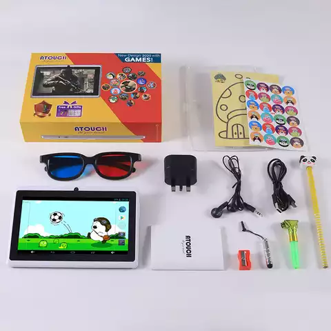 7 inch gaming tablet for kids Touch tablet pc
