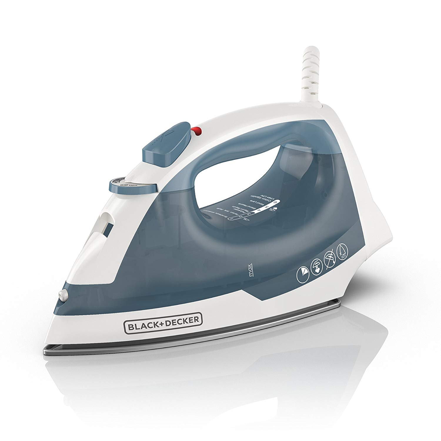 BLACK+DECKER Easy Steam Compact Iron, IR40V