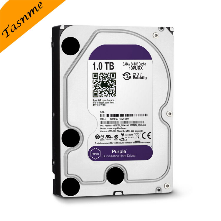 3.5 Inch SATA Hard Disk For Monitoring / Desktop Internal 1TB Hard Drive