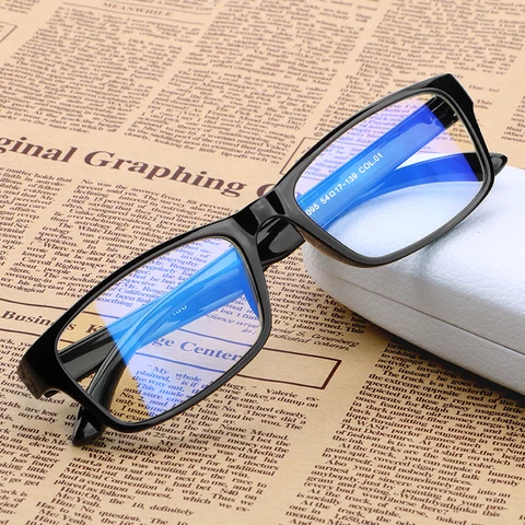 Anti-blue Glasses Tr 90 comfortable Frames Anti Blue Light Filter Rays Computer Glasses