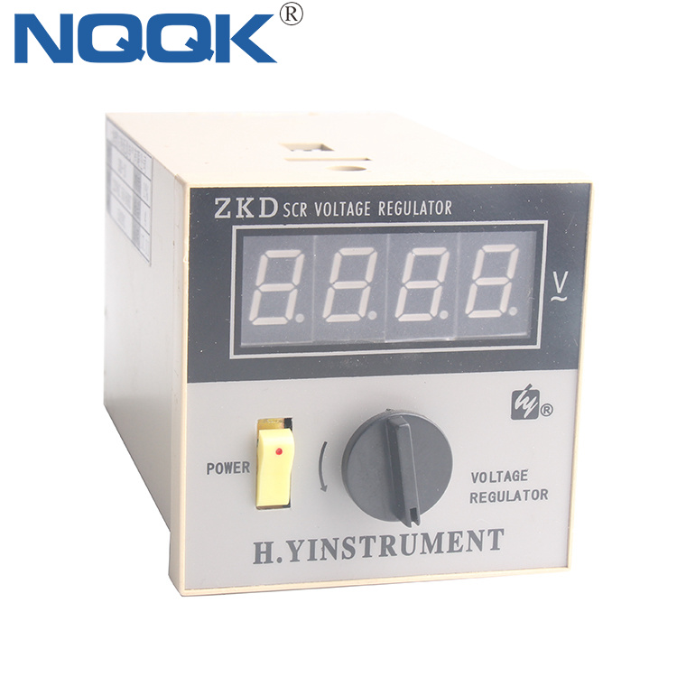 ZKD 220VAC 1% digital thyristor SCR Voltage Regulator with fuse