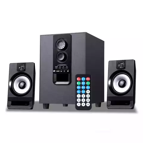 LG 2.1 Amplifier Speaker DJ Box for Home Theater 20w Subwoofer Speaker