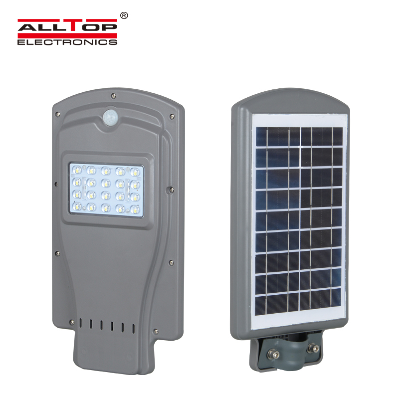 High lumen Waterproof outdoor IP65 all in one solar streetlight