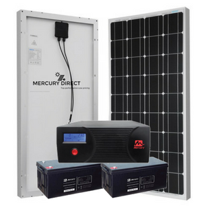 2.4 KVA  COMPLETE SOLAR  SYSTEM