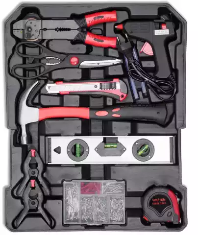 925 Pcs Hand Tools Set with Alluminium Case
