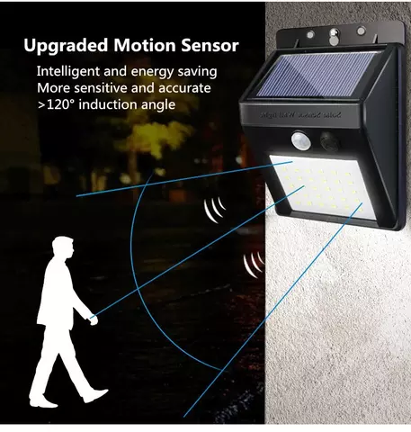 Solar Lights Outdoor Wireless Motion Sensor Lights