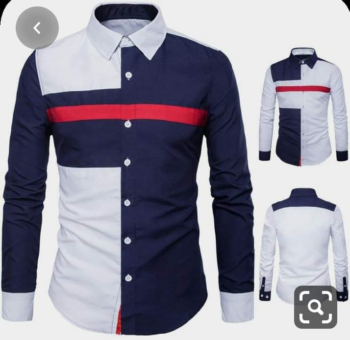 Office men fashion wear, long and short sleeve