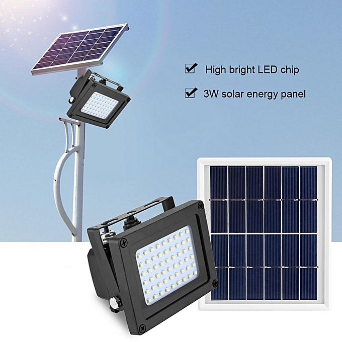 20watts Floodlight Solar Sensor Lamp Outdoor Street Light