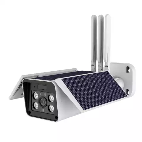 4G Sim Card Wireless Camera with Solar Panel