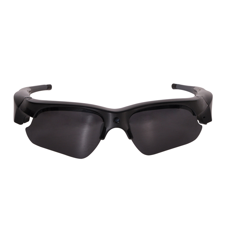 High Quality Polarized Lens Video Recording Hidden Spy Sunglasses Camera