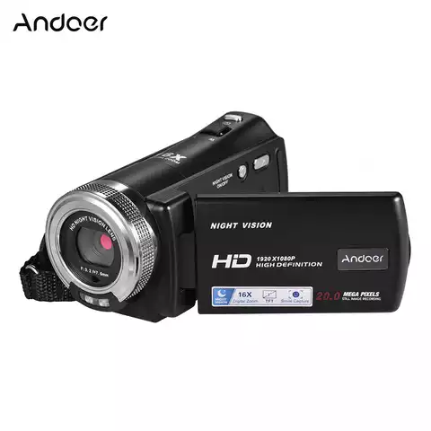 16x Full HD Digital Zoom Recording Video Camera