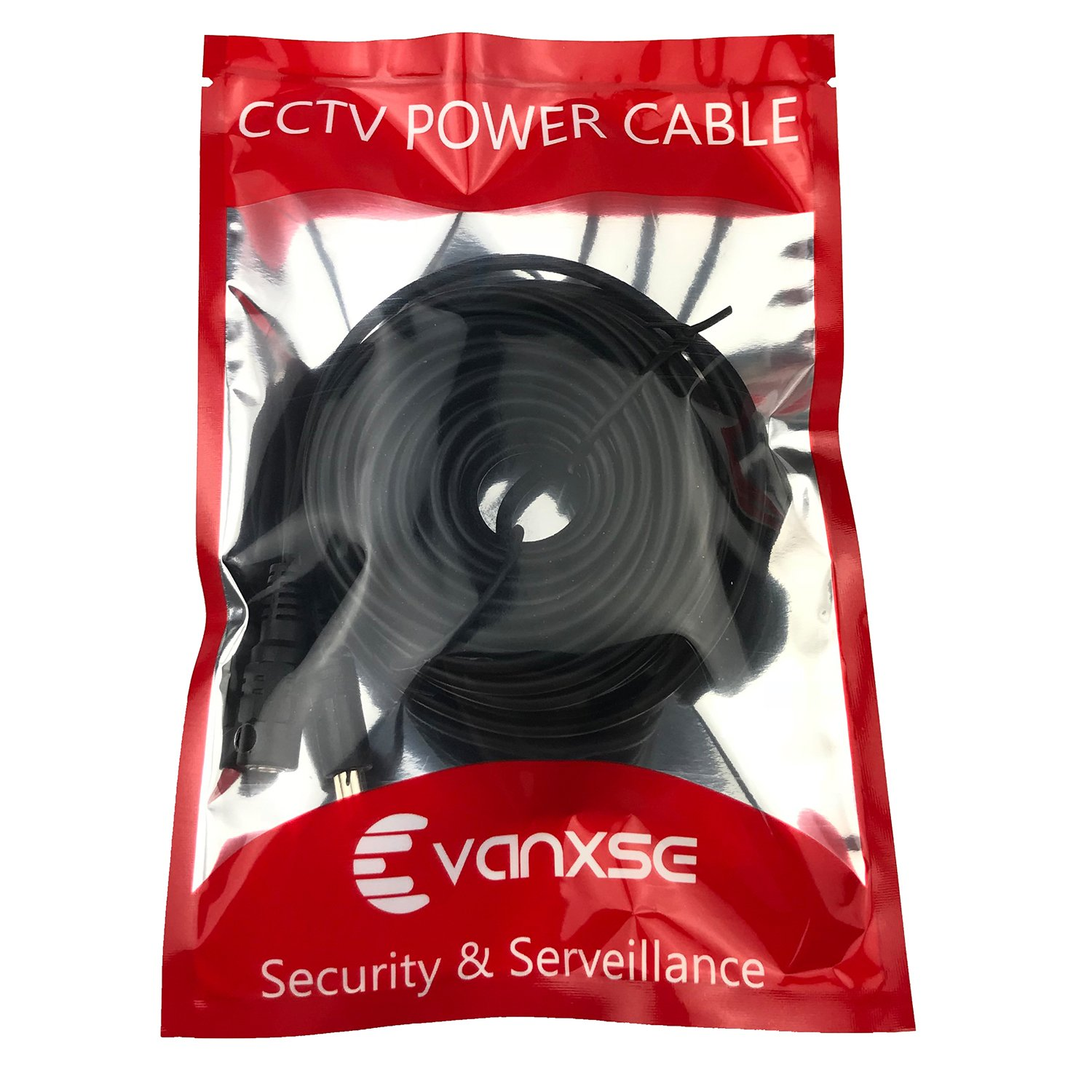 CCTV 15m 2.1x5.5mm Dc 12v Power Extension Cable