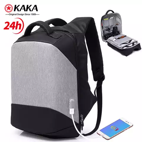 business bagpack usb mens school bags custom smart anti theft laptop backpack