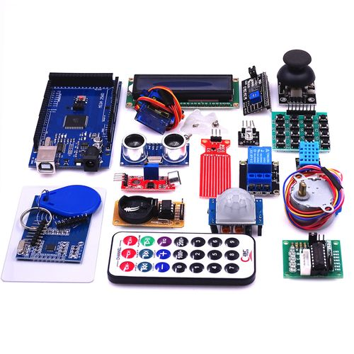 Mega 2560 R3 Starter Kit Motor Servo Ultrasonic Ranging Relay LCD For Arduino