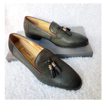 Handmade and designers slippers for men