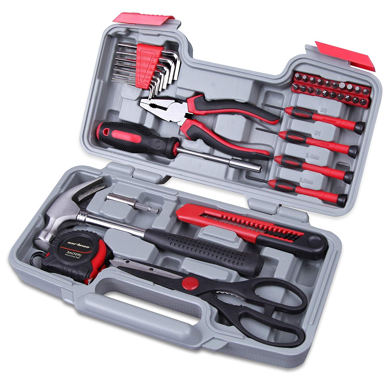 CARTMAN Red 39-Piece Cutting Plier and General Household Hand Tool