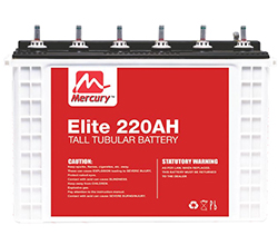 220Ah deep cycle tall tabular battery