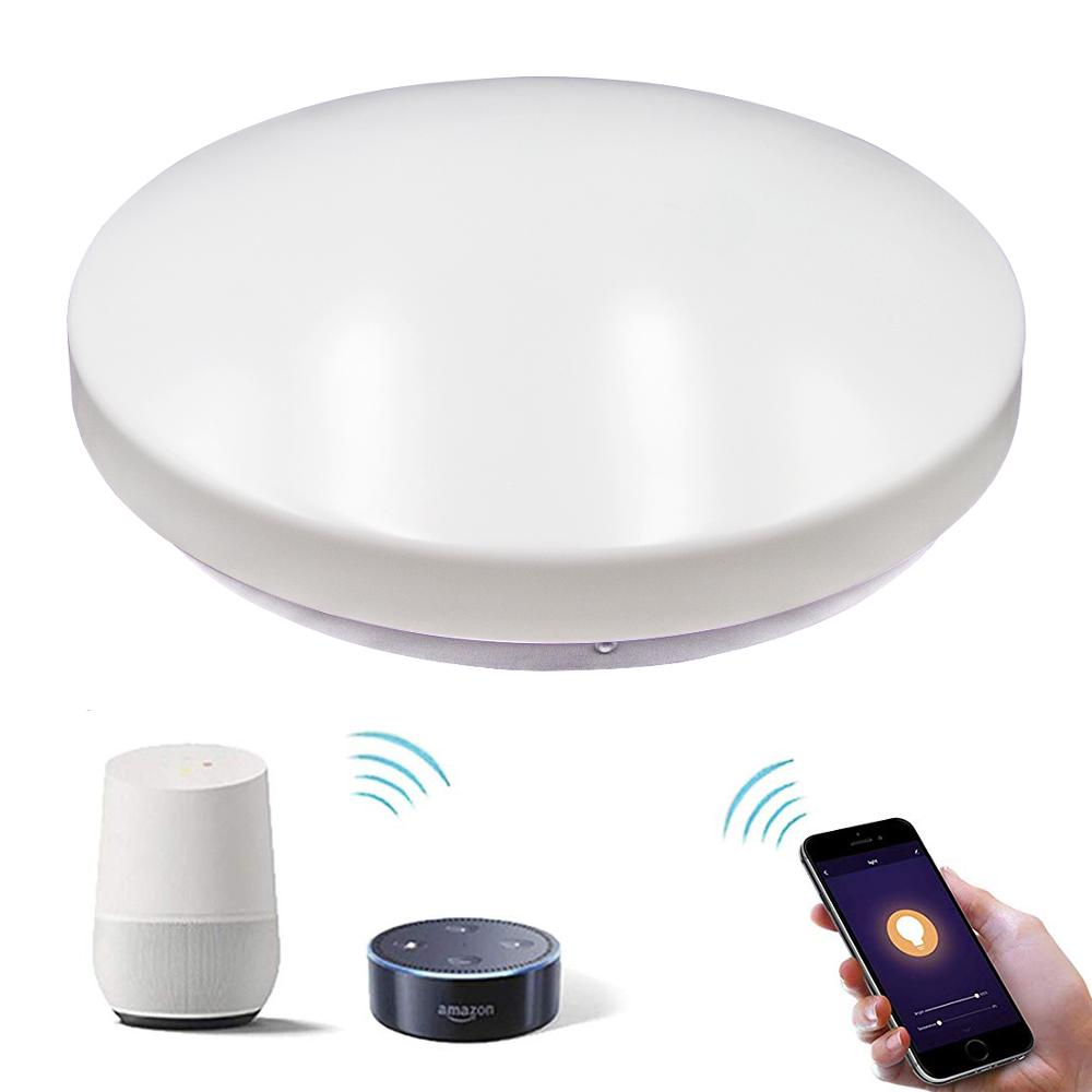 Hot selling WiFi control 24W 290*90mm smart led ceiling