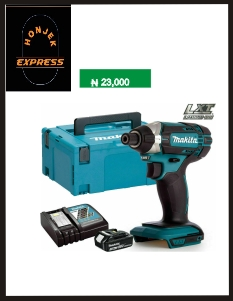 Makita DTD152Z 18V Li-ion Impact Driver With 1 x 3Ah Battery, Charger & Mak New