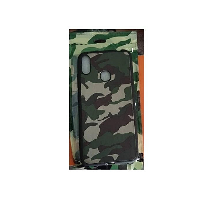 Generic ITEL S33 Army Camouflage Protective Back Case