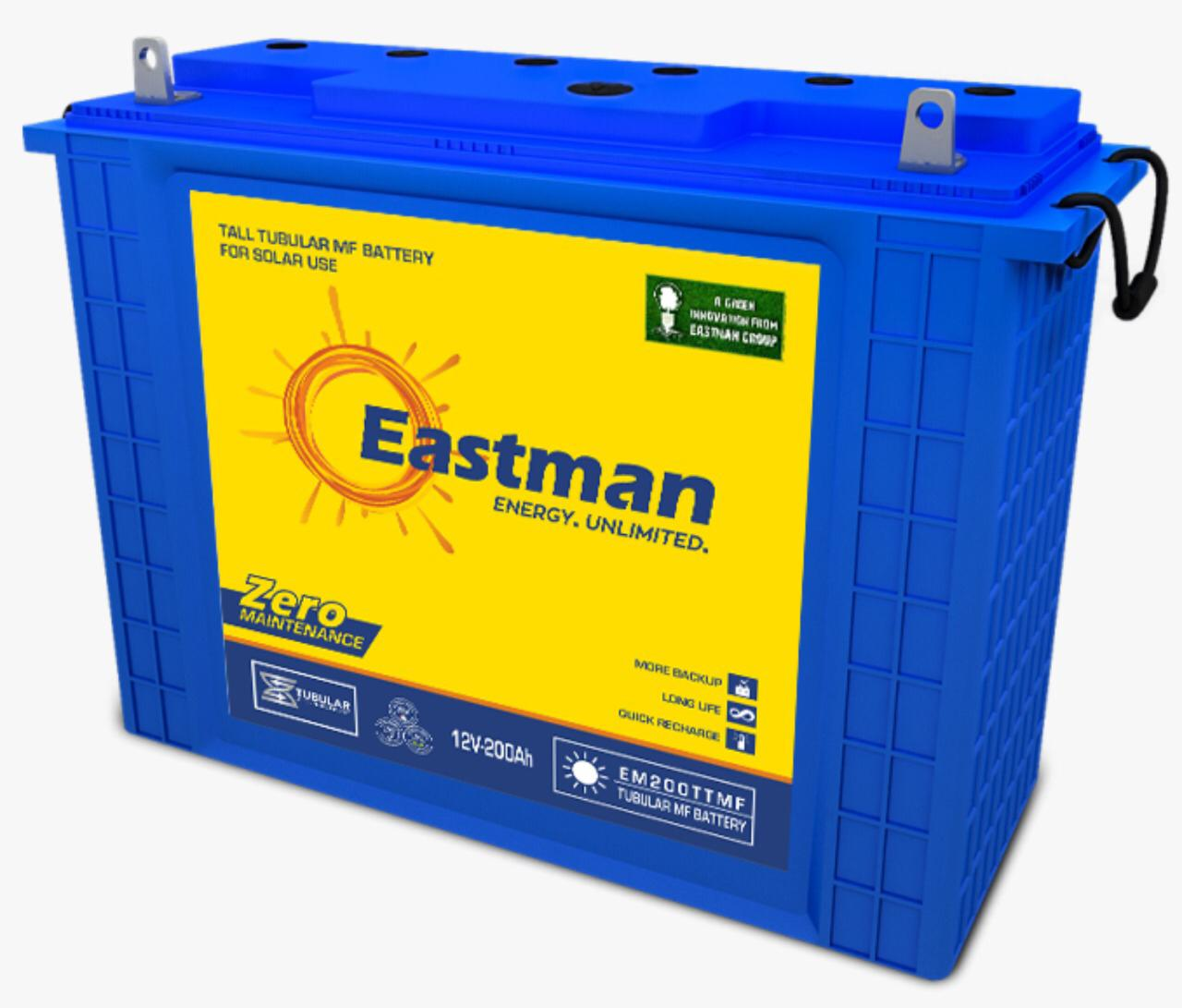 12V/200AH Eastman battery