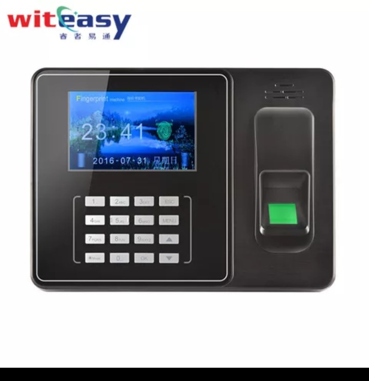 SIM Card finger print time attendance with gprs and WIFI A9