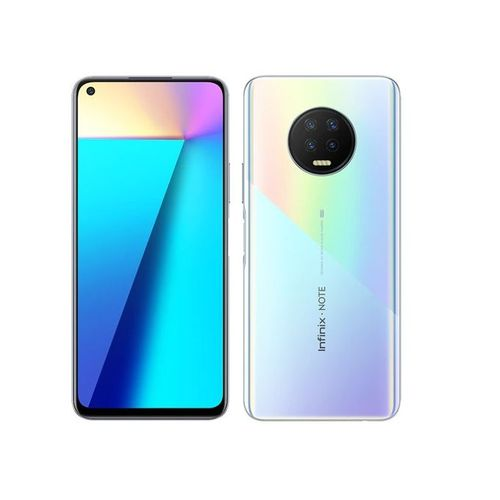 Infinix Note 7 6.95-inch 4GB RAM + 64GB ROM 48MP + 2MP + 2MP +AI Lens Android 10 5000mAh Bolivia Blue