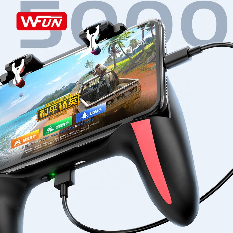 Mobile Smartphone Controller Triggers Gaming Joystick For PUBG Gamepad