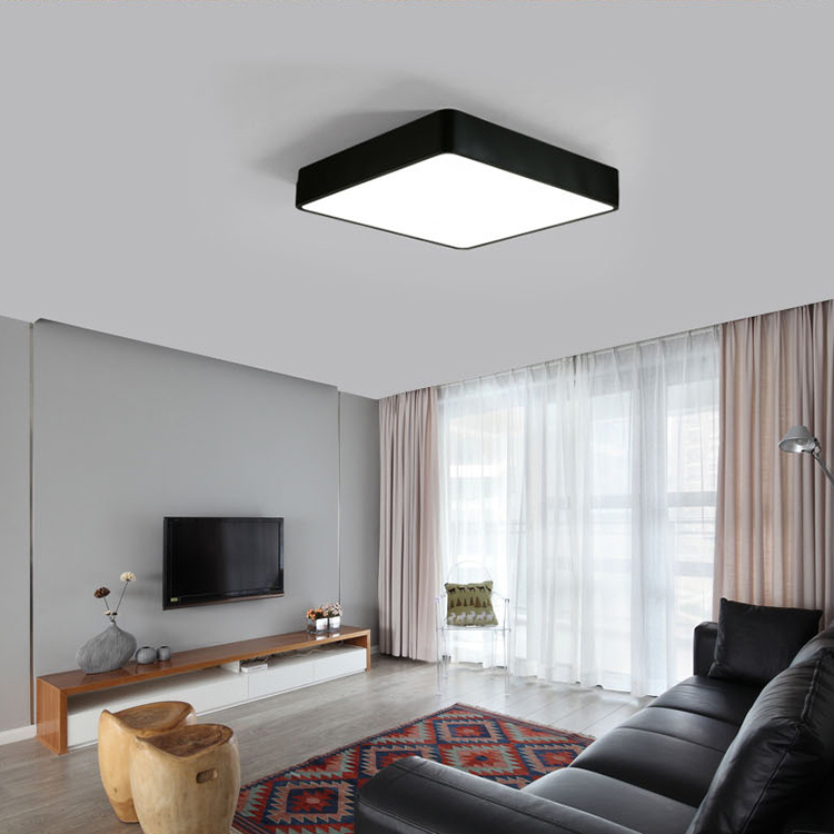led ceiling light modern square