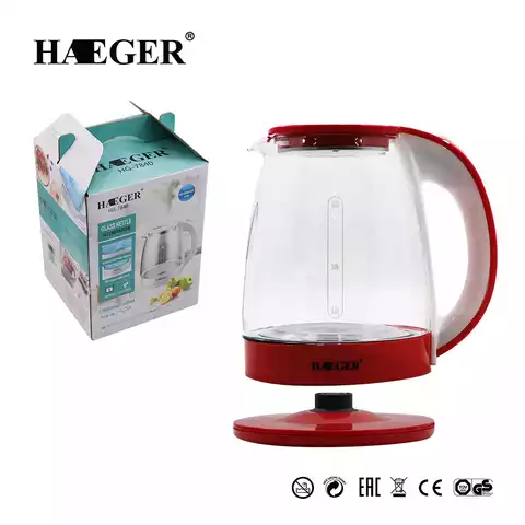 360-degree rotating metal base Electrical jug