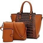 Ladies hand bags 3 in 1