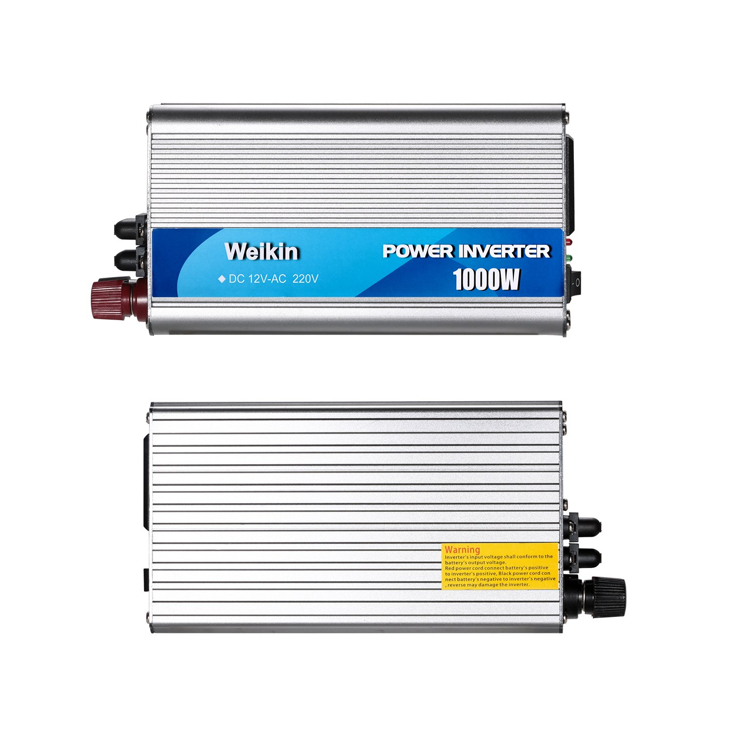 Power Inverter 1000 Watt DC 12 Volt to AC 220 V 230 V 240 V for Solar Power System 1000W