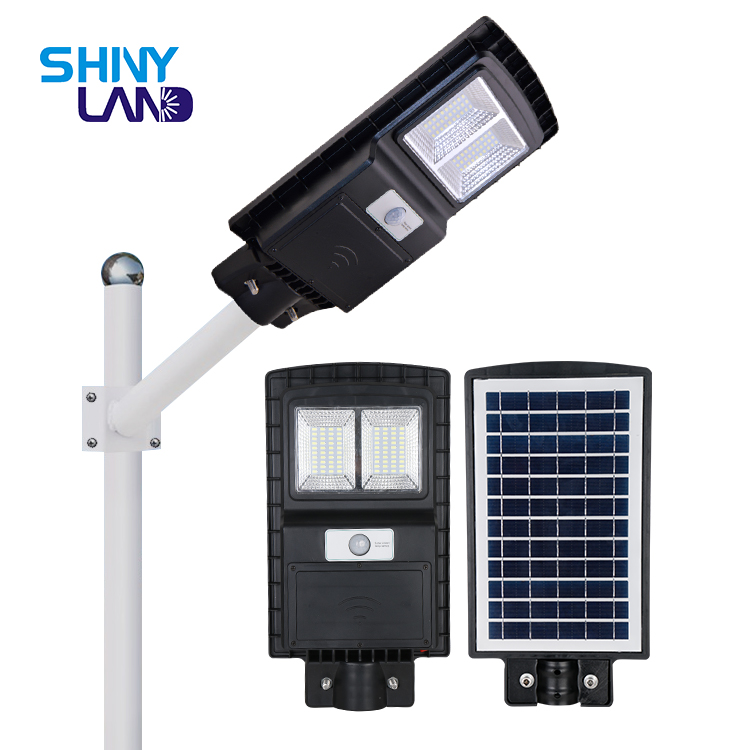 Motion sensor Ip65 outdoor waterproof all in one solar street light