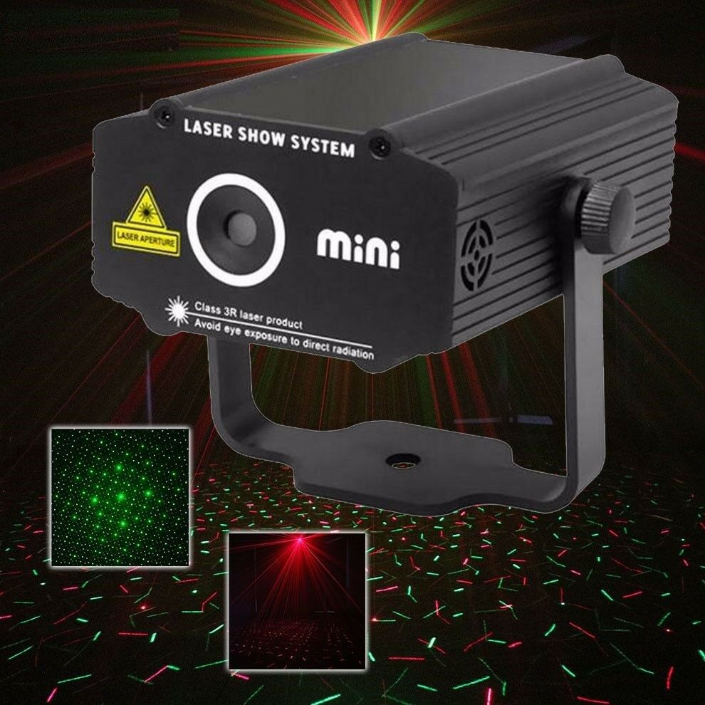 Laser Projector Stage Lighting Effect Star Light DJ Club Bar Party Show Lights