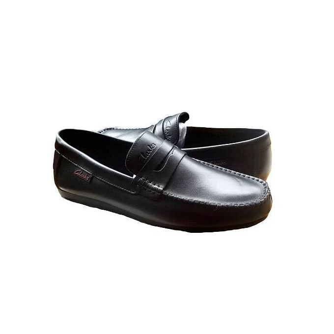 Classic Black Men Loafers Full Shoe