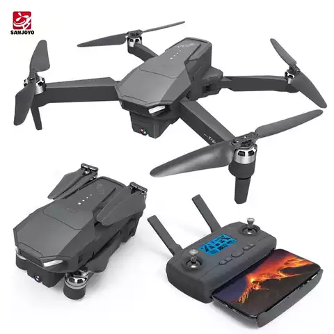 Professional  SJY-Z20 GPS Rc Drone Brushless 5G Drone with 4k Range Camera Range
