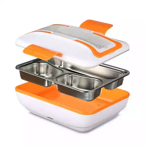 Student's most convenient lunch box can be heated stainless steel lunch box