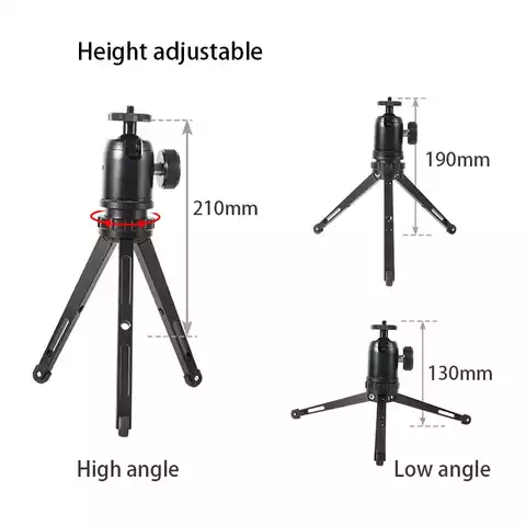 Mini portable table desktop selfie stick tripod stand monopod mount base support holder for camera smartphone movie vlog