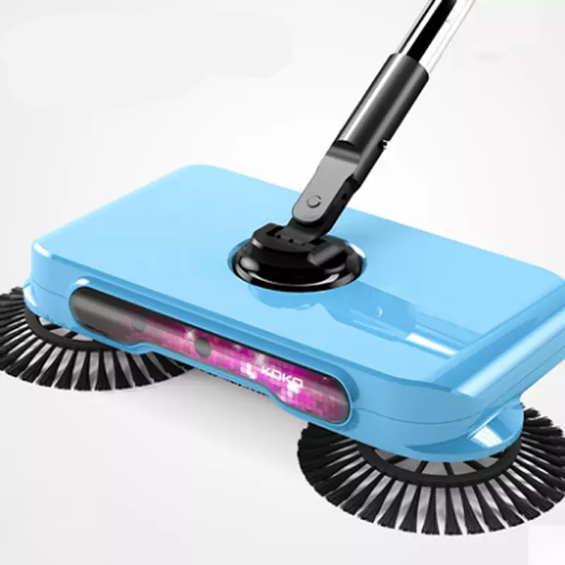 3 in 1 Household Automatic Hand Push Sweeper Broom