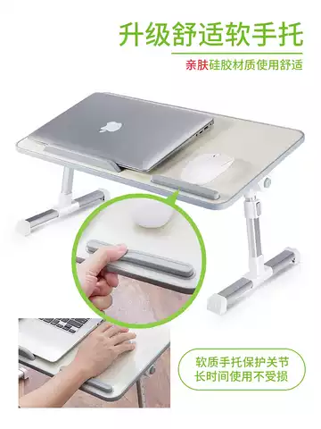 Foldable Portable Mdf Wood Home Office Bed Computer Laptop Lap Tray Desk Table Product Description