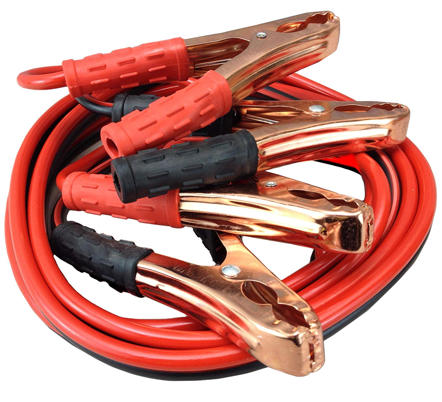 Car 6mm2, 200A Jumper Battery Cables 8 Ft Booster Jump Start
