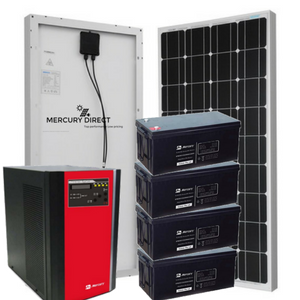 Complete Solar System Tags: 200ah battery, 300 Watts Solar Panel, 48v, 5kva, Pure Sine Wave