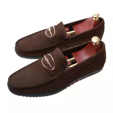 Suede Italian Casual Private Label Leather High Ankle Shoe for Men