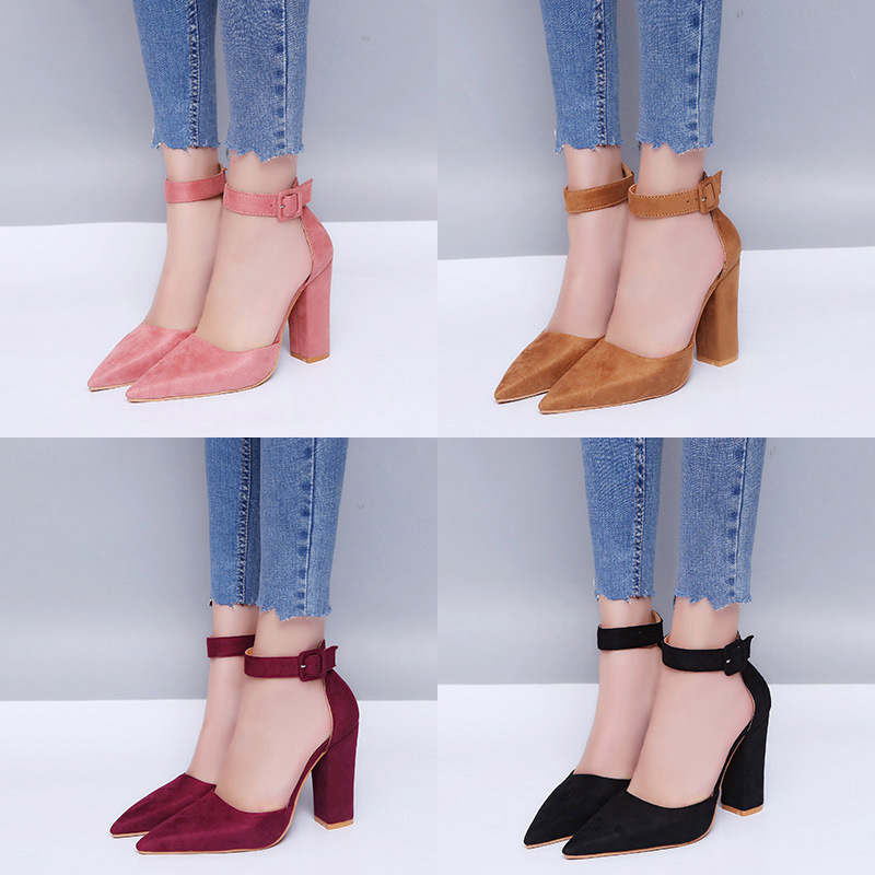 Spring autumn hot selling nice ladies high heel shoes women fashion dress shoe pumps
